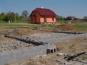 Zaměření hotové stavby ke kolaudaci